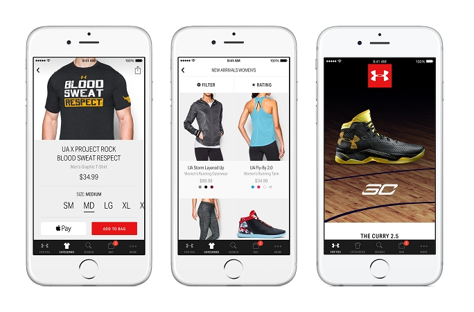Derritiendo zoo Cenagal  Under Armour Leverages 170 Million Users' Data To Power Mobile Shopping App  - Retail TouchPoints