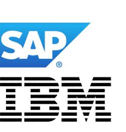 SAP IBM logo