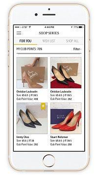 Luxury Shoe Club App
