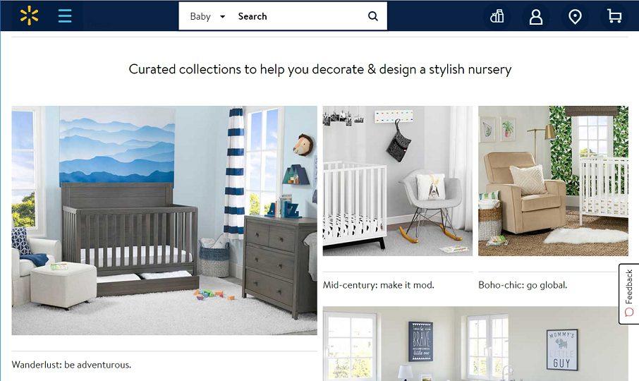 Walmart Launches 'Shop By Style' Online Nursery Destination ...