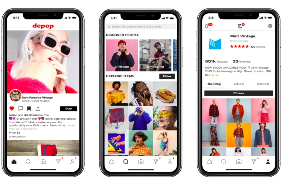 Depop Raises $62 Million To Fight Counterfeiting, Expand Globally ...