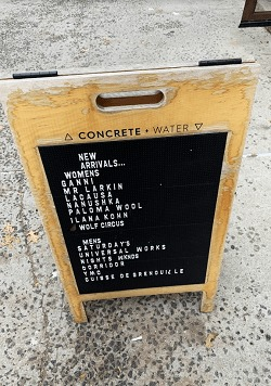 ConcreteWater sign