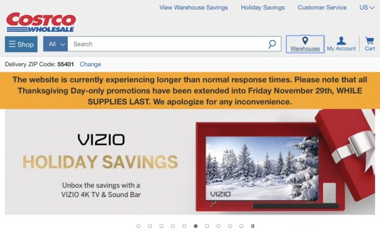Costco's Minimal Communications Following Thanksgiving Site Outage: A Mistake Or A Strategy?