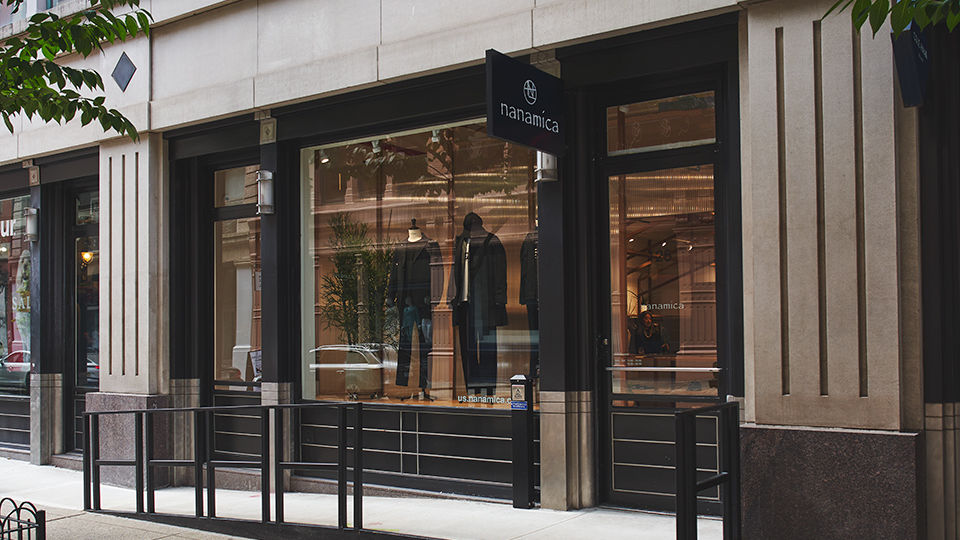 nanamica New York has opened in Soho at 125 Wooster St. It is the first store outside of Japan.