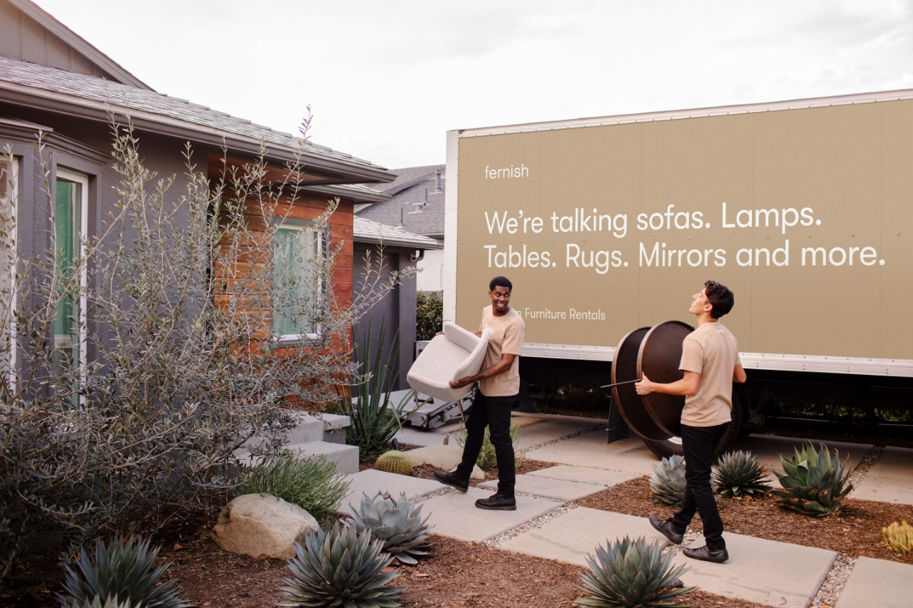 Fernish is a furniture rental company that brings two popular concepts, circular commerce and sustainability, together to create a more flexible buying experience for shoppers.