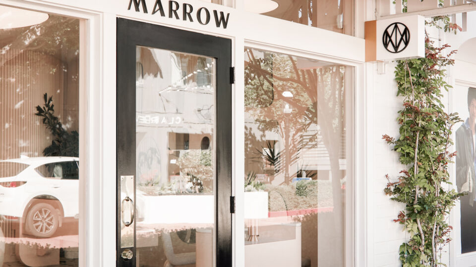 The exterior of the new Marrow Fine Jewelry in Newport Beach, Calif.