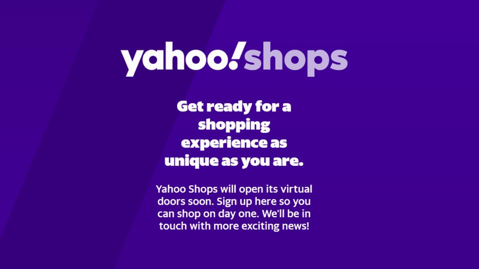 Yahoo Shops