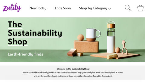 Zulily Sustainability Shop