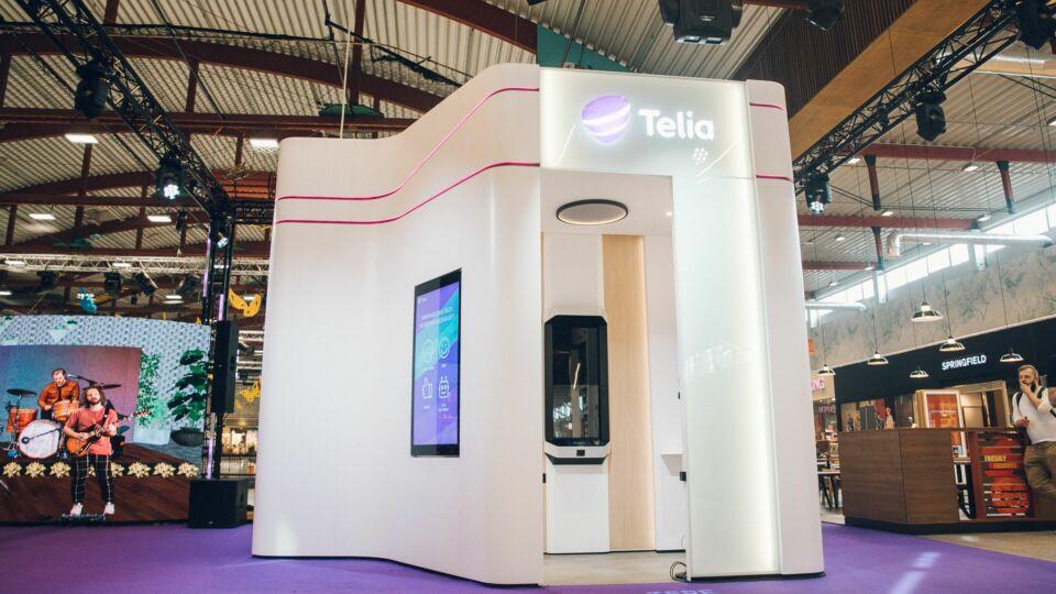 Telia Self-Service Store