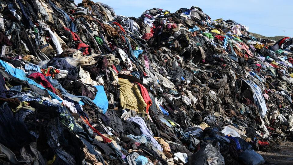Clothes Landfill Returns Waste