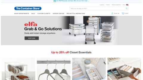 The Container Store Narvar