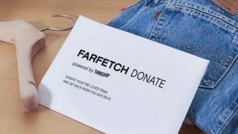 ThredUP Farfetch Resale Donations