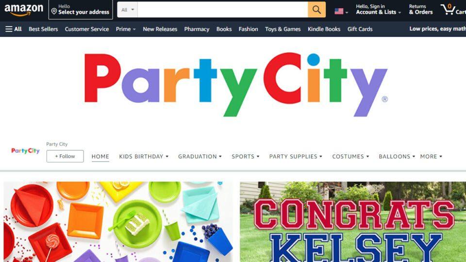 Party City Amazon 2