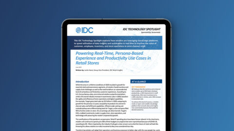 Powering Real-Time, Persona-Based Experience & Productivity Use Cases in Retail Stores