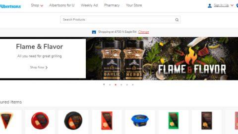 Albertsons Firework shoppable content