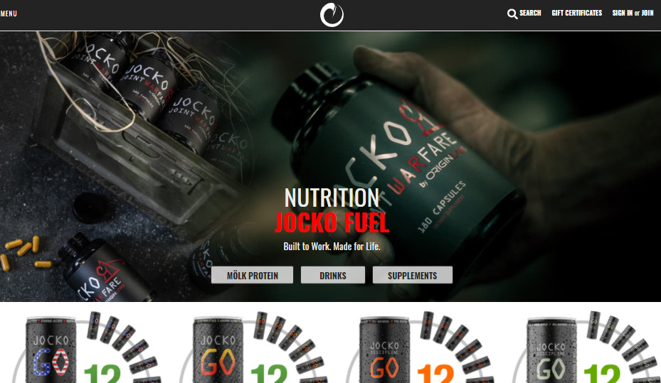 Jocko Fuel health brand ai