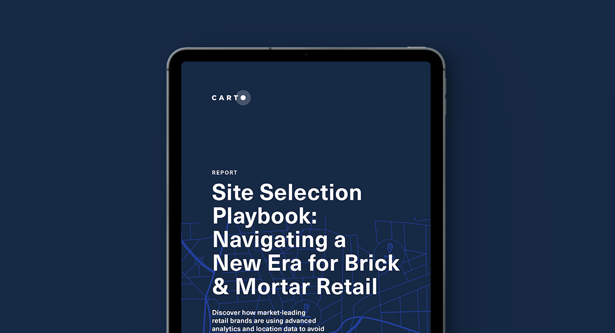 Site Selection Playbook: Navigating a New Era for Brick-and-Mortar Retail