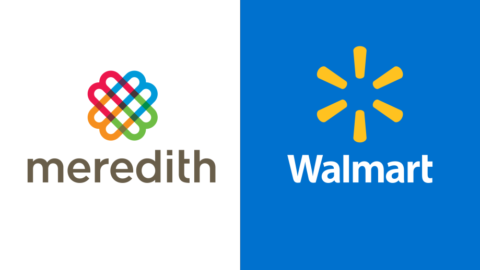 Walmart Meredith shoppable content