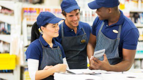 Retail diverse workforce