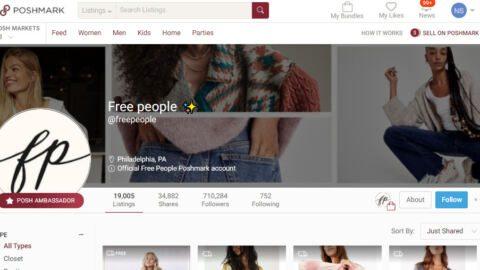 Poshmark Brand Closet social selling tools