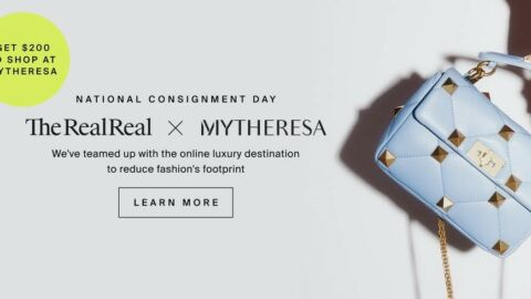 The RealReal x Mytheresa resale